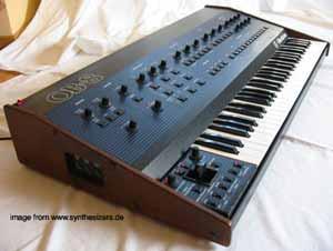 Oberheim OB8 synthesizer
