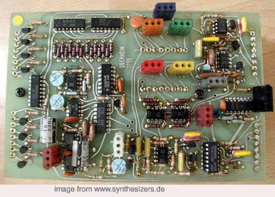oberheim 4voice mini sequencer board