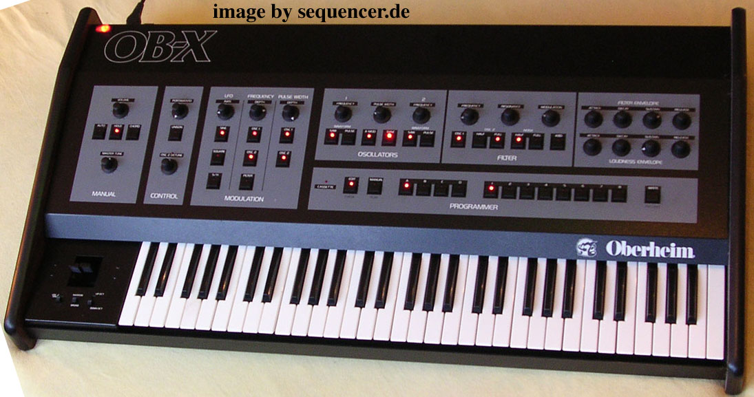 Oberheim OBX synthesizer