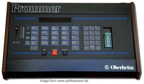 Oberheim Prommer synthesizer