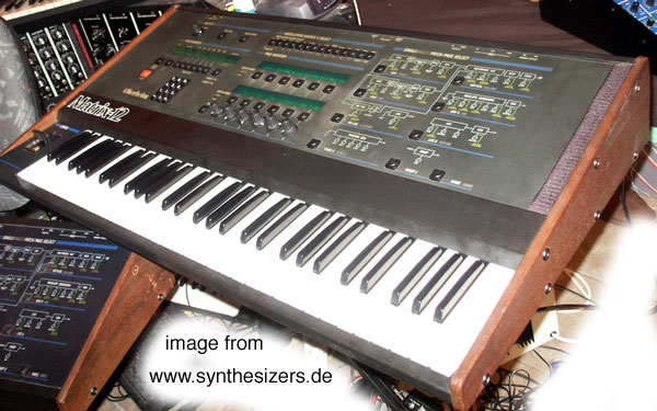 Oberheim Matrix 12 synthesizer