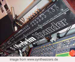 Xpander Matrix12 Xpander Matrix12 INFO synthesizer