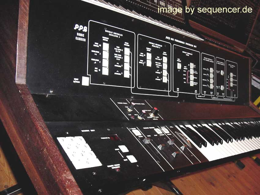 PPG 1003, Sonic Carrier synthesizer