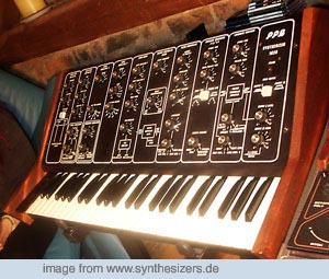 PPG 1020, 1002 synthesizer