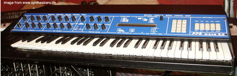 PPG Wave2.2 Wave2.3 synthesizer