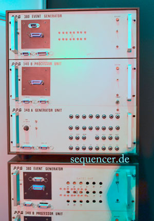 PPG 340, 380 synthesizer