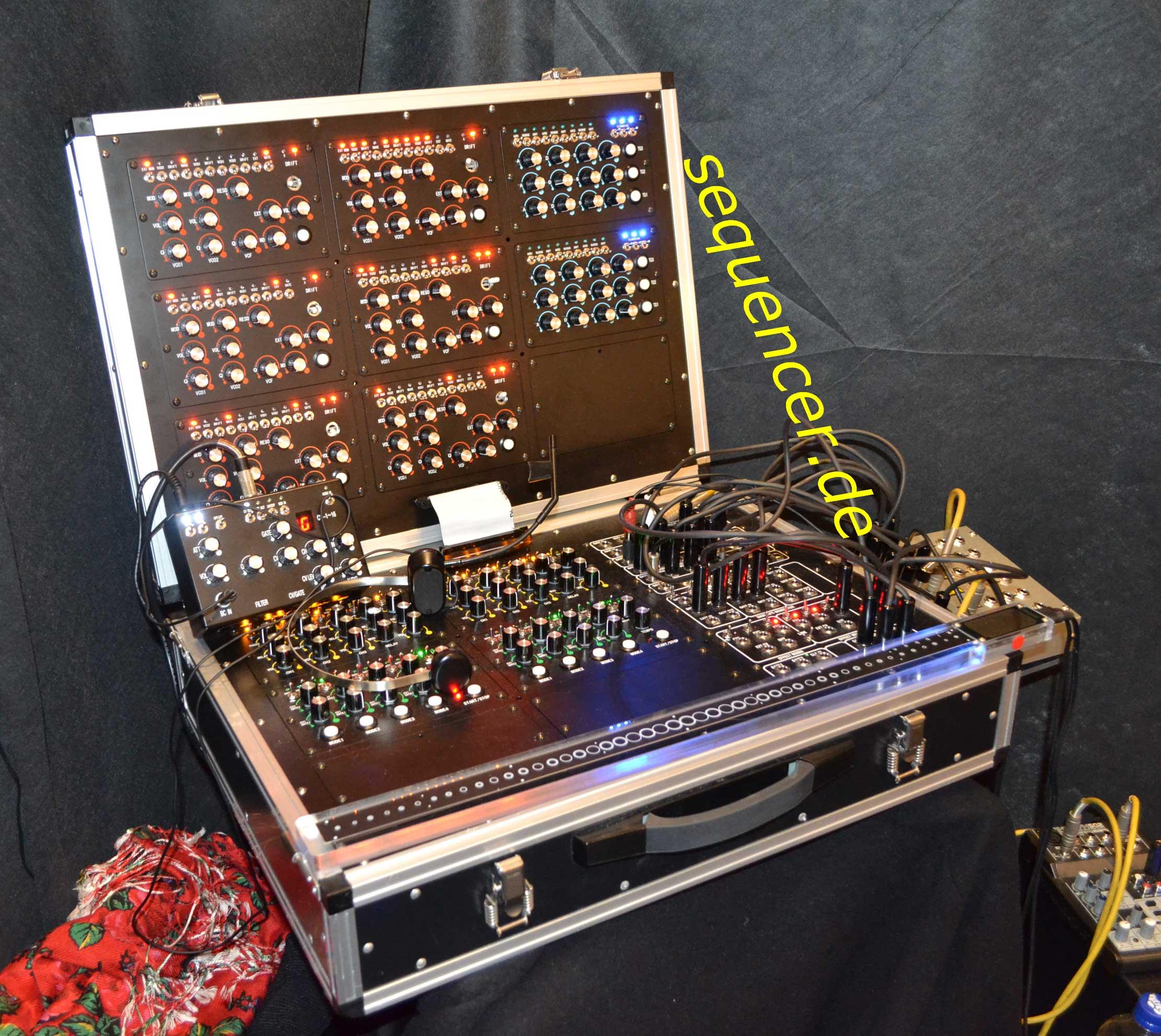 Reon Demo Box 2012, Musikmesse Reon Demo Box 2012, Musikmesse synthesizer
