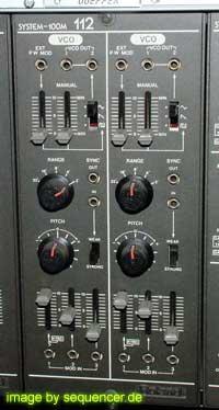 roland system 100m 112 dual VCO