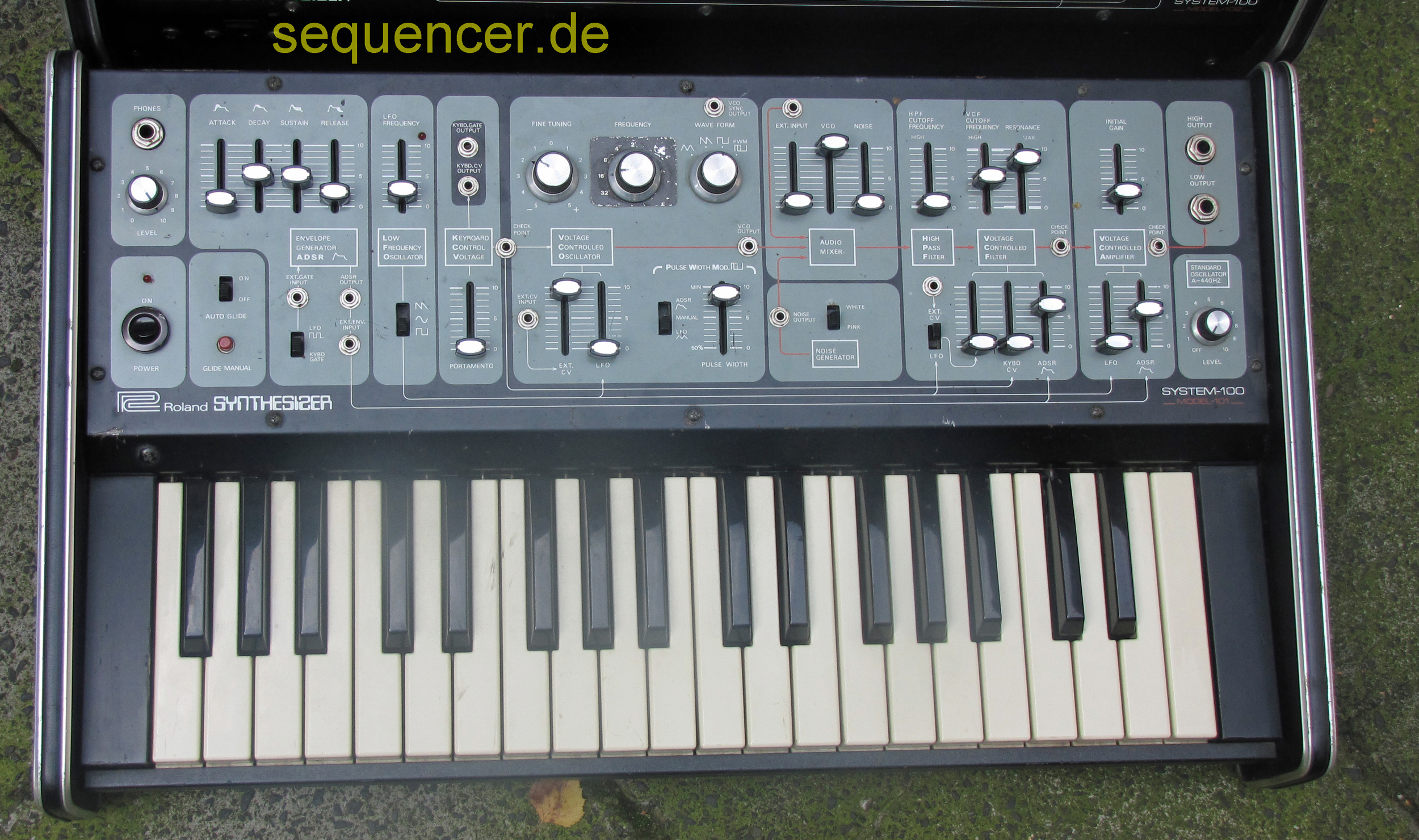 System 100 - Keyboard Typ 101 System 100 - Keyboard Type 101 synthesizer