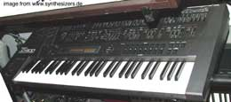roland JD800 synthesizer