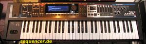 Roland JunoGi synthesizer