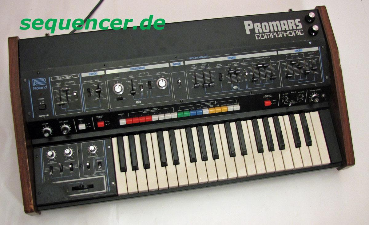 Promars VCO2 Mod Promars MSR2 Mod synthesizer