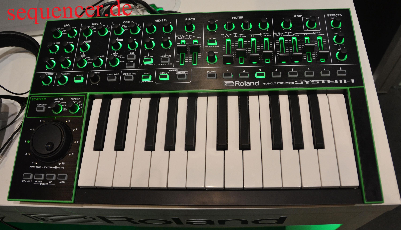 Roland System 1 Digital Synthesizer