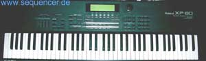 Roland XP80 synthesizer