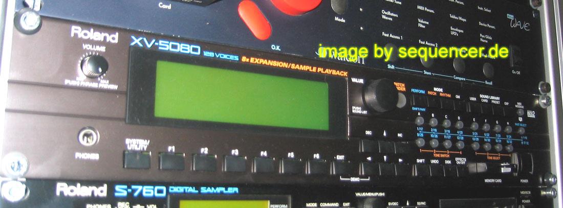 Roland XV5080, Fantom , XV88 synthesizer