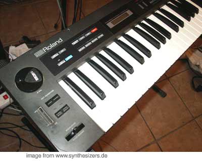 Roland Alpha Juno 2, Alpha Juno 1 synthesizer