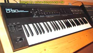 Roland D50, D550 synthesizer