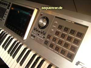 Roland Fantom G-Serie Roland Fantom G6, G7, G8 synthesizer