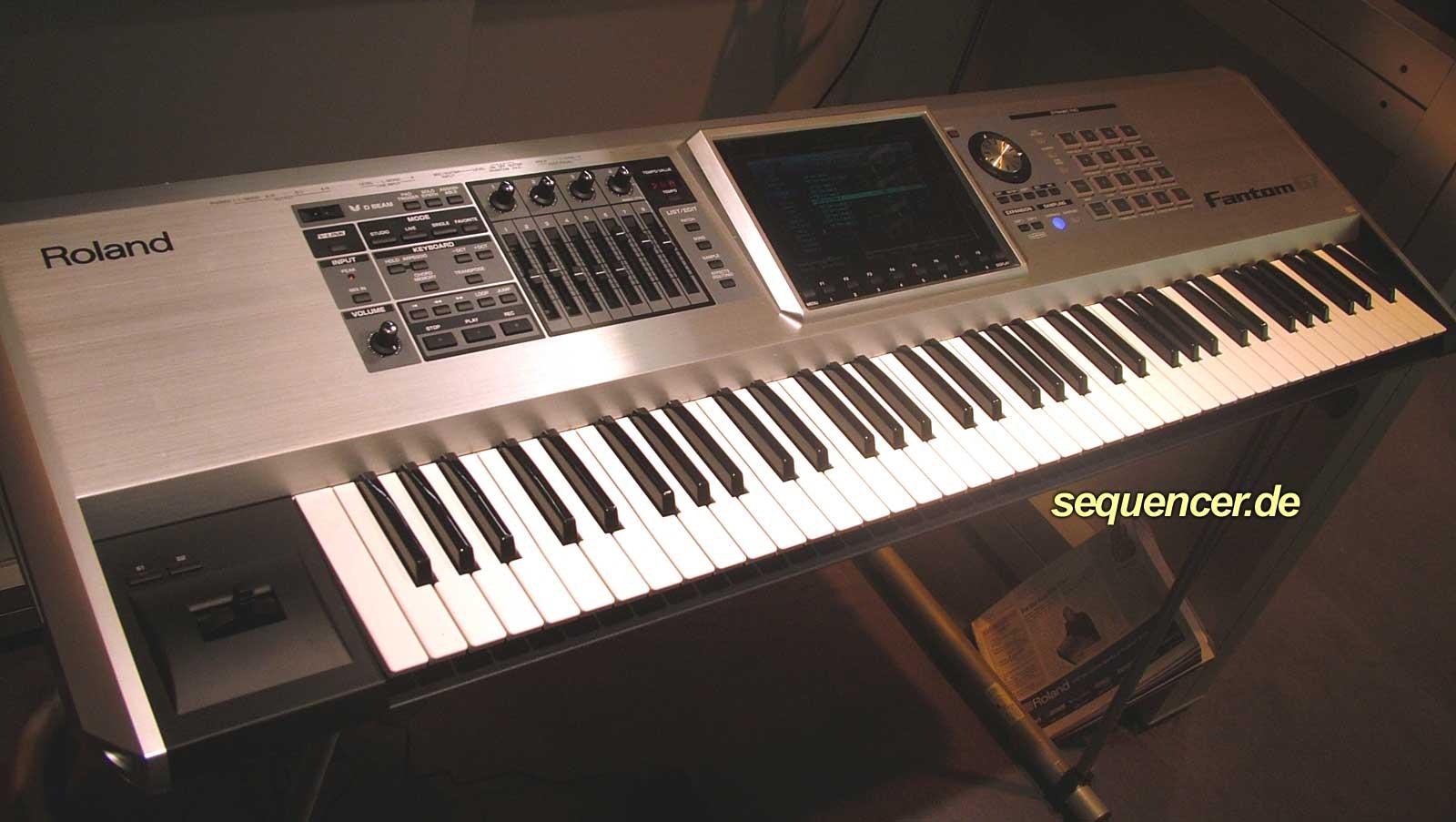 Roland Fantom G6, Fantom G7, Fantom G8 synthesizer