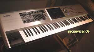 Roland FantomG6, FantomG7, FantomG8 synthesizer