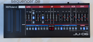 Roland Boutique, JU06 synthesizer