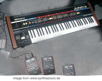 Roland Juno6 synthesizer