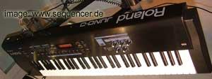 Roland JunoD synthesizer