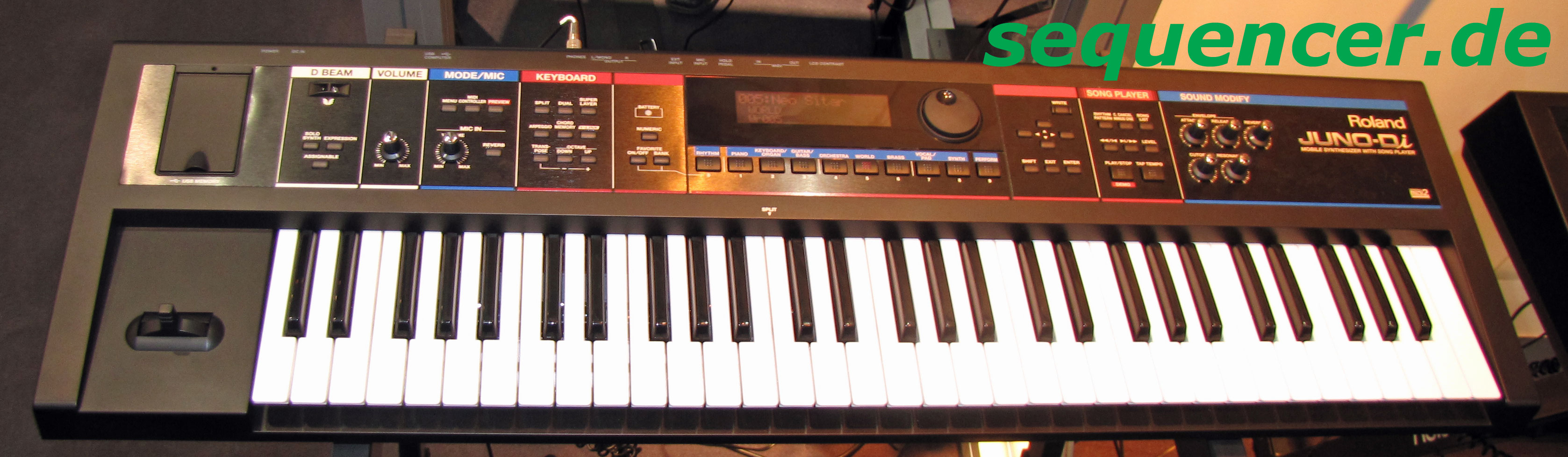 Roland Juno Di , Juno Stage synthesizer