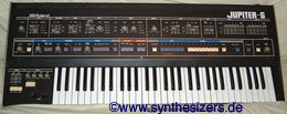Roland Jupiter6 synthesizer