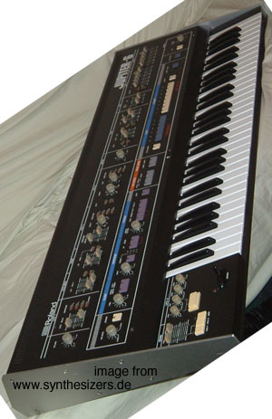 roland jupiter 6 synthesizer