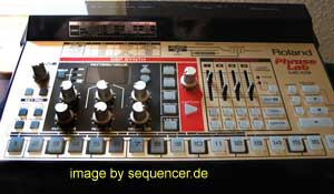 Roland MC09, PhraseLab synthesizer
