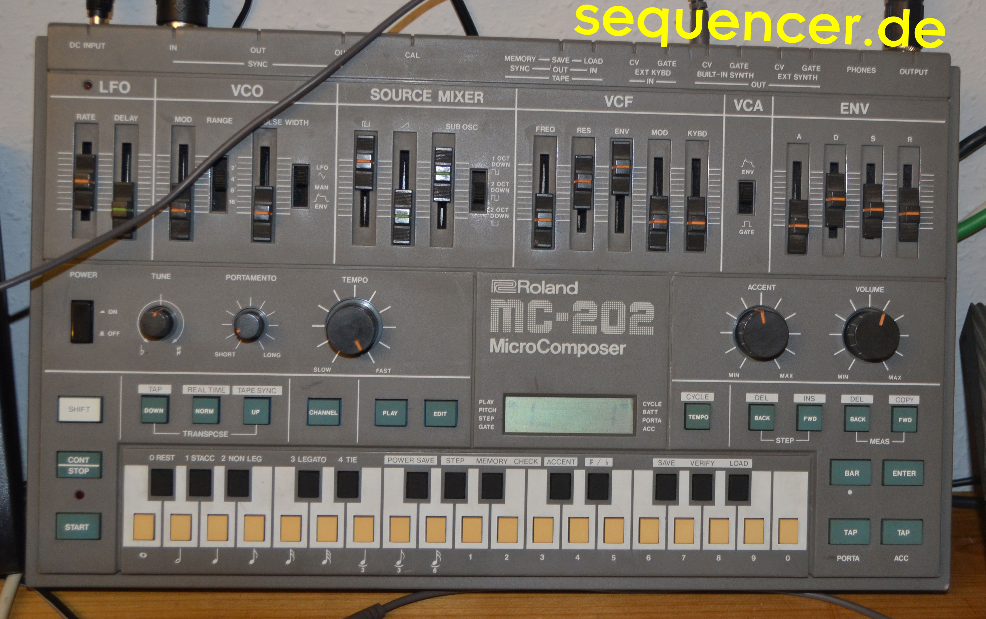 Roland MC202 Roland MC202 synthesizer