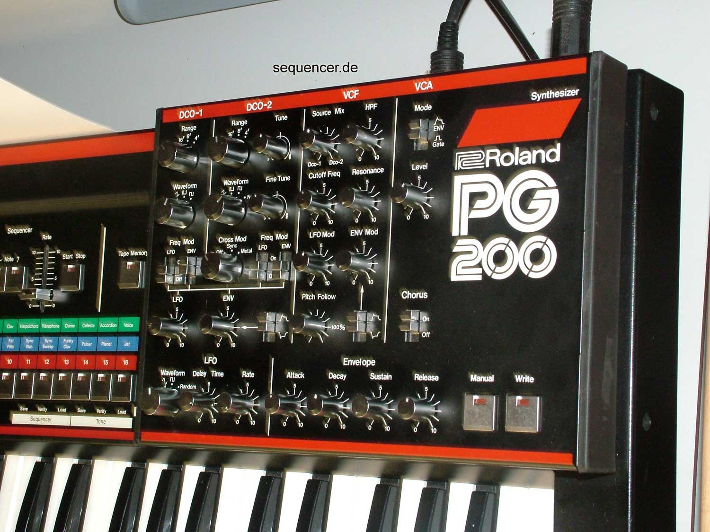 PG200 Programmer Roland PG-200 Programmer synthesizer