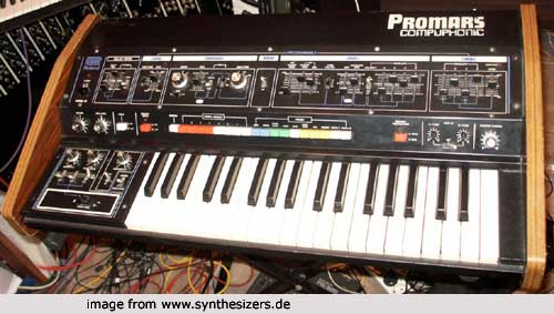 Roland Promars , MRS2 synthesizer