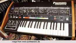 Roland Promars, MRS2 synthesizer
