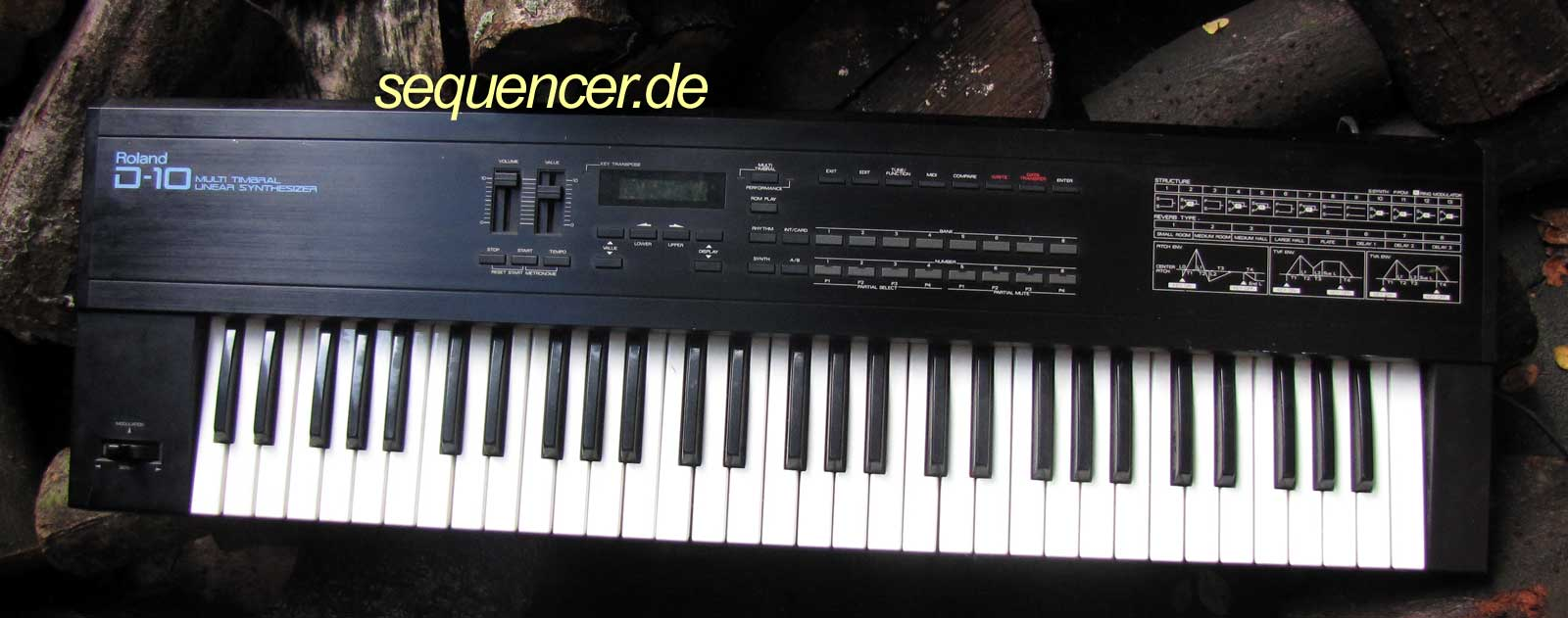 Roland D10, D110 synthesizer