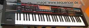 Roland JunoG synthesizer