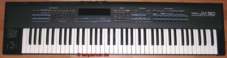 Roland JV90 synthesizer