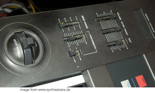 jx8p synthesizer controls