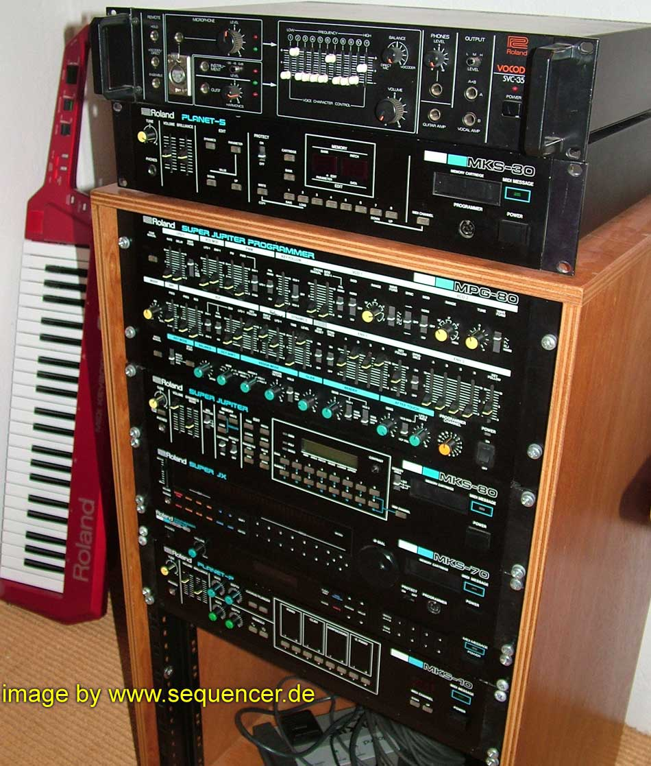 Roland S10, S220, MKS100 synthesizer