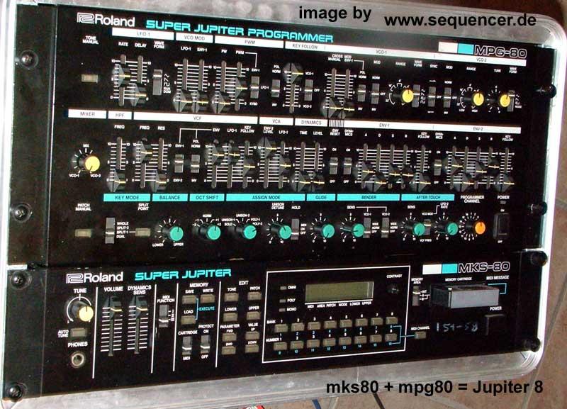 Roland Jupiter 6 Analog Synthesizer
