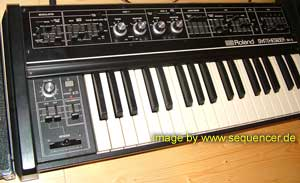 Roland SH2 synthesizer