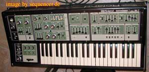 Roland SH7 synthesizer