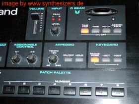 Roland VSYNTH synthesizer variphrase