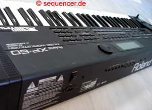 Roland XP60 synthesizer