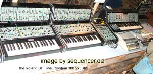 Sh Serie Sh Series synthesizer