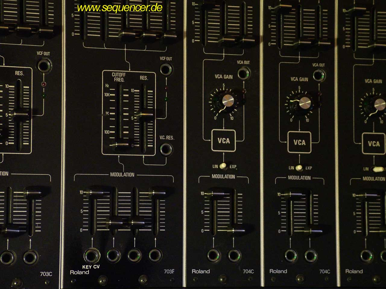 Roland System 700 Roland System700 Filter synthesizer