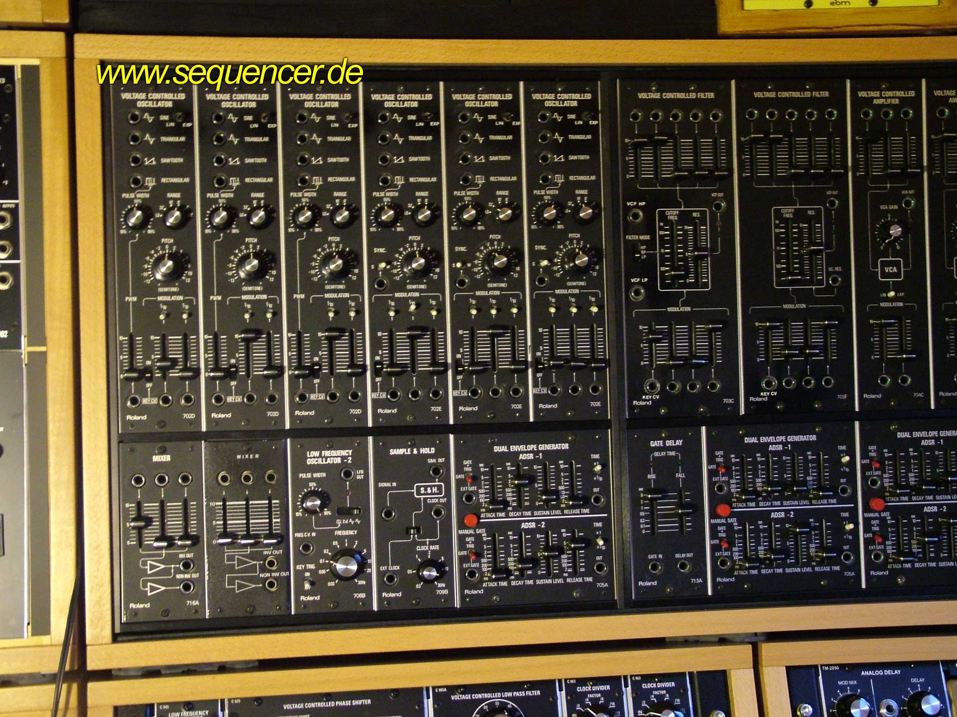 Roland System 700 Roland System700 synthesizer