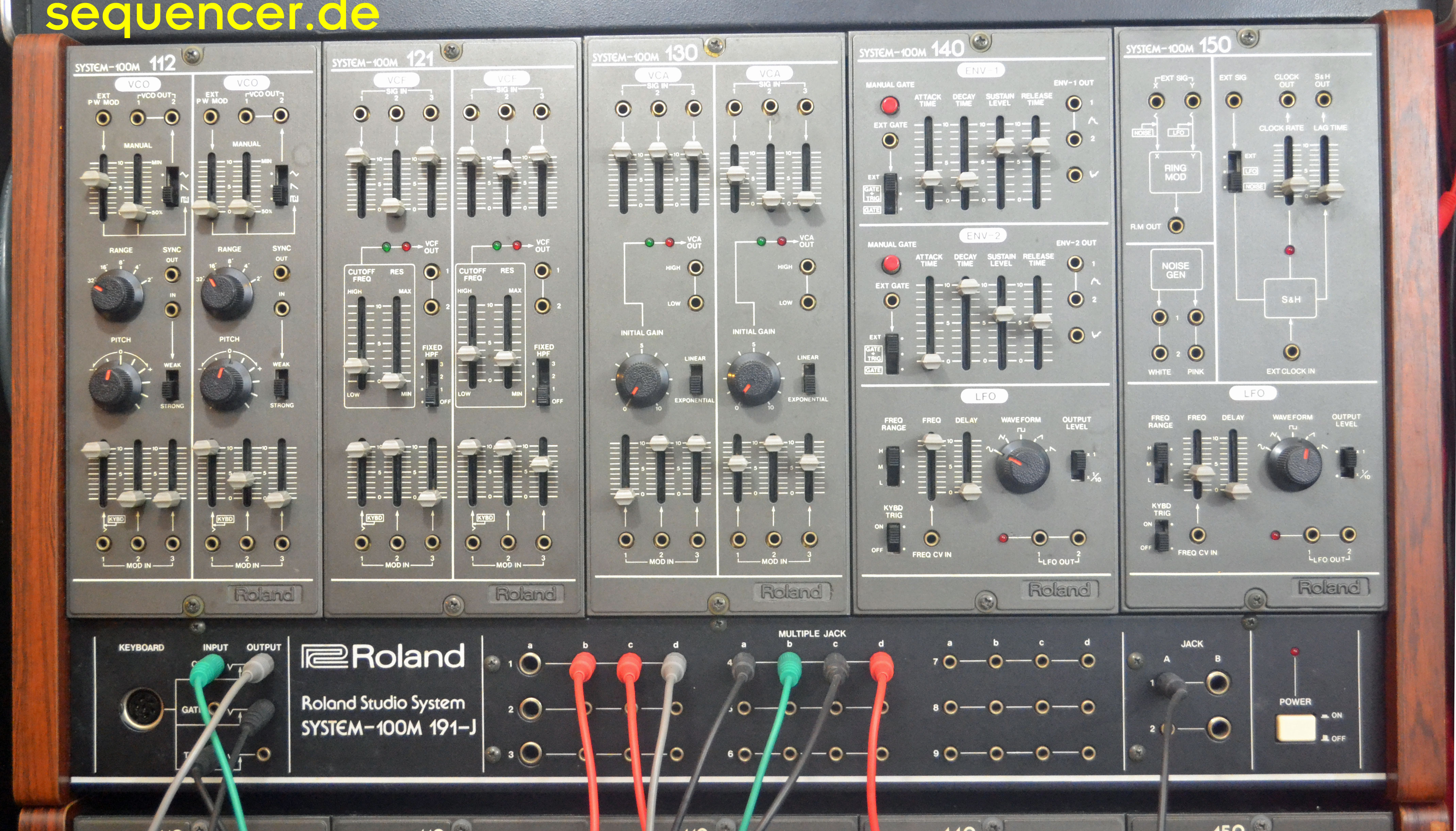 Roland System 100m Roland System 100m synthesizer