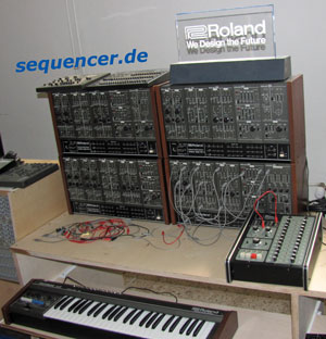 Roland System100m synthesizer